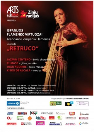 """Arandano Compania Flamenca"" with program ""Retruco"" I December 19-31st"