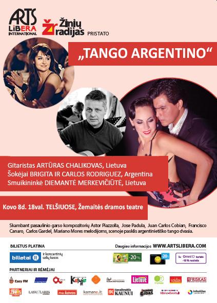 Tango argentino I kovo 8d. Telšiai
