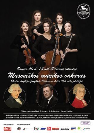 Masonic music evening I January 20th Vilnius