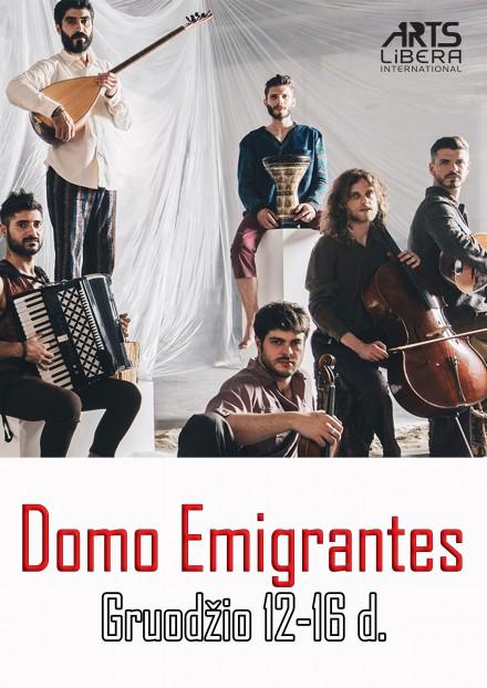 Domo Emigrantes I Gruodžio 12-16 d.