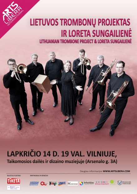 Lithuanian trombone project & Loreta Sungailienė  I November 14th Vilnius