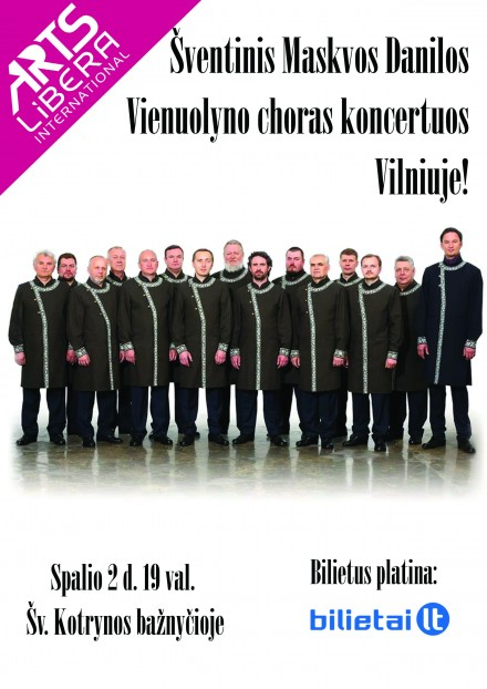 Moscow Danilo Monastery choir I October 2 Vilnius