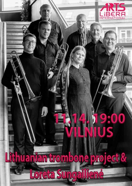 Lietuvos trombonų projektas ir Loreta Sungailienė I Lapkričio 14 d. Vilnius