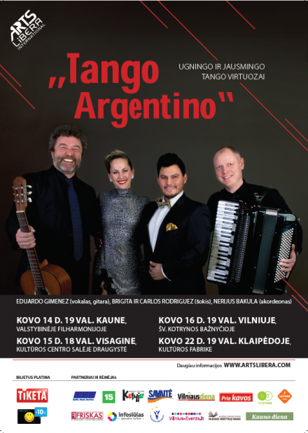 """Tango Argentino"" I March 14 – April 12th"