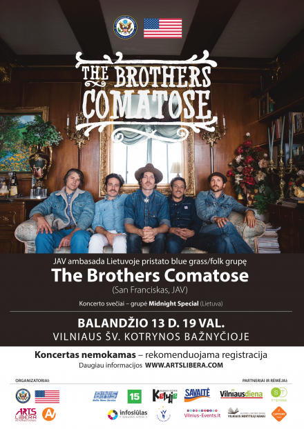 The Brothers Comatose I April 11-14th