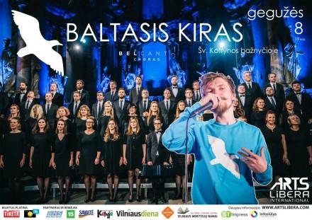 Grupės BALTASIS KIRAS koncertas | gegužės 8 d.
