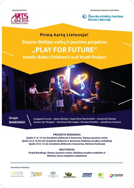 "Nordic-Baltic children's and youth project ""Play for Future"""